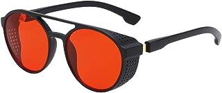 Longtis Las gafas de sol de aviador de protección contra la radiación de moda gafas de sol retro