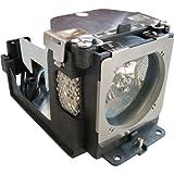 azurano Ersatzlampe für Eiki 610 333 9740 mit Gehäuse