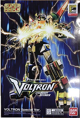 Bandai Shokugan 28915 Voltron (Exclusive Set) Sdcc 2018' Voltron, by Bandai Super Mini Pla