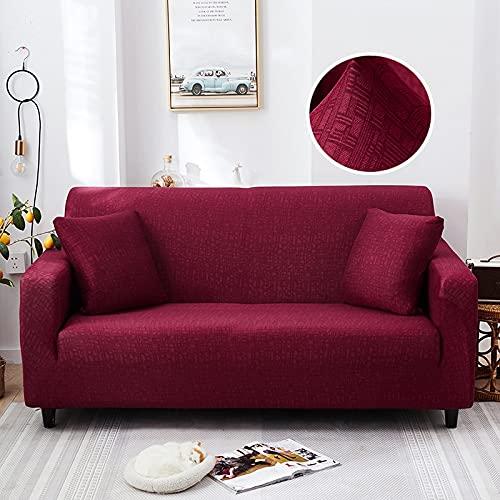 WXQY Flexible Sofagarnitur Moderner Wohnzimmersofabezug Kombiecke L-förmiger Stuhlschutzbezug Sofabezug A13 4 Sitzer