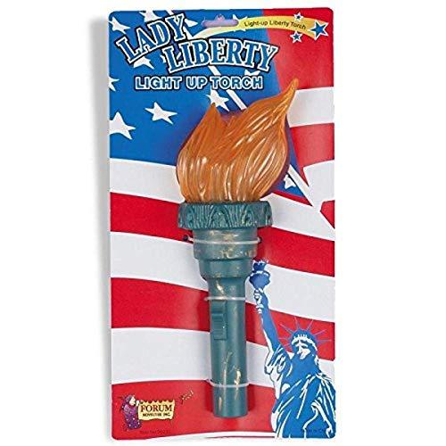 Forum Novelties Costume Accessory Light Up Statue of Liberty Torch
