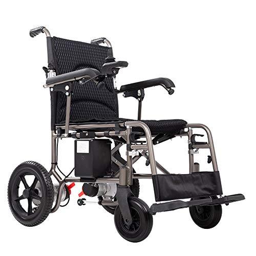 Travel Rolstoel Heavy Duty krachtige dual Motor Foldable Elektrische rolstoelen Gemotoriseerde Elektrische rolstoelen in het vliegtuig