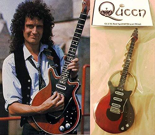 Schlüsselanhänger Gitarre Rot Special Brian May Queen