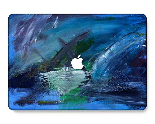 GangdaoCase Plastic Ultra Slim Light Hard Shell Case Cut Out Design for MacBook Pro 13 inch with/Without Touch Bar/Touch ID A2338 M1/A2289/A2251/A2159/A1989/A1706/A1708(Painting B 0585)