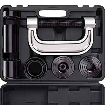 Heavy Duty Ball Joint Press & U Joint Removal Tool Kit with 4wd Adapters for Most 2WD and 4WD Cars and Light Trucks  BK
