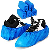 50 Pack Green Convenience Disposable Shoe Covers Boot Cover