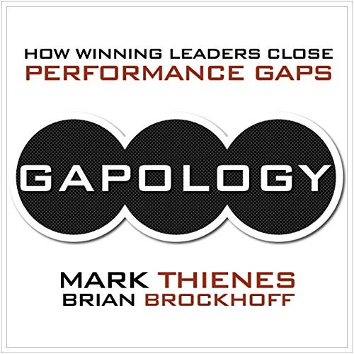 Gapology Audiobook By Mark Thienes, Brian Brockhoff cover art