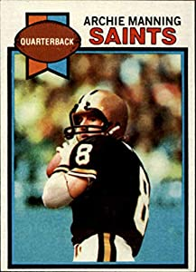 1979 Topps #383 Archie Manning New Orleans Saints NFL Football Card NM Near Mint