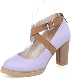 BalaMasa Womens Casual Travel Herringbone Urethane Pumps Shoes APL10698