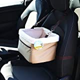 Me and My Pets Beige Car Booster Seat and Carrier