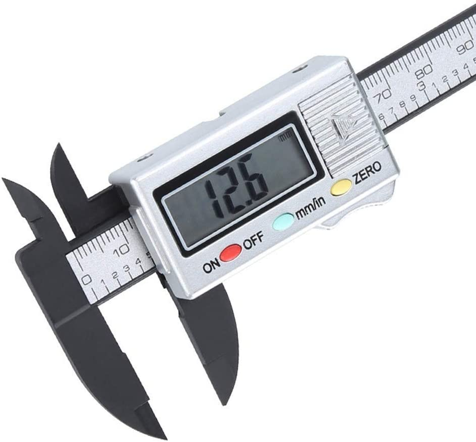 ZUQIEE Electronic Digital Display Vernier Full Plastic M Now free Mail order shipping Caliper