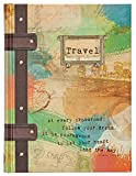 "Travel Journal (Hardcover) – 160 Blank Lined Pages, 6"" x 0.4"" x 8"" – Perfect Gift for Birthdays, Holidays, an Upcoming Trip, and More"