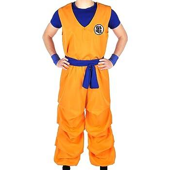 S Misura CoolChange Travestimento Cosplay di Son Goku della Serie La Sfera del Drago