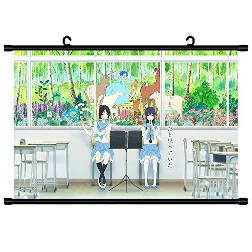 Blow Bar On The Bass No. Kumiko Rinai Hara Qingxiang Jing Blow Kyoto Animation Surrounding Hanging Painting Poster Wall Paste 50x75 (Wire) P