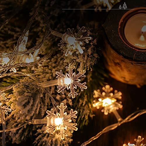 XBAO sterrenlichten, ideaal voor tuin, woonkamer, eetkamer, Kerstmis enz. Eenvoudige installatie en gebruik voor binnen en buiten, niet gemakkelijk te verwarmen, lange levensduur