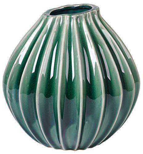 Broste copenhagen Vase 'Wide' M Keramik