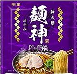 明星 麺神 神太麺×旨 醤油 117g ×20個