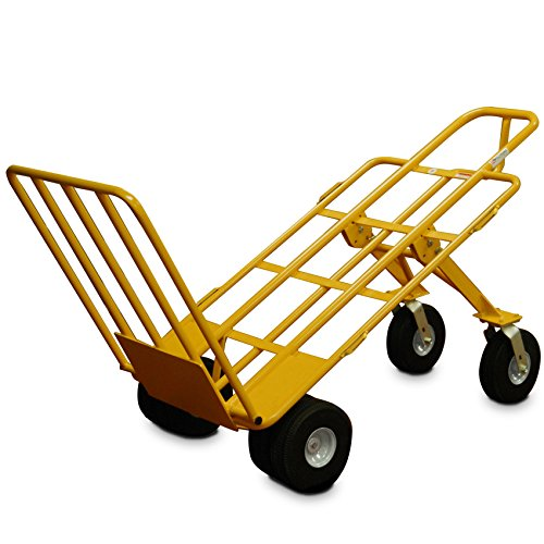 All-Terrain Hand CART 6 Wheel with 1000 lb Capacity and 10 inch Airless Wheels