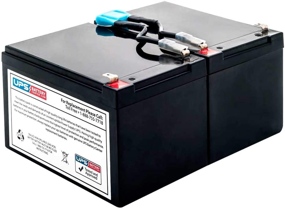 New SU700X167 Battery Pack for APC Smart-UPS 700VA Compatible Replacement by UPSBatteryCenter