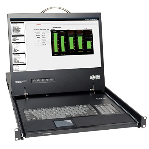 Tripp Lite B021-000-17 KVM Console Unit 1U Rackmount with 19-Inch LCD