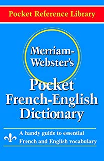 Merriam Webster Pocket French-English Dictionary