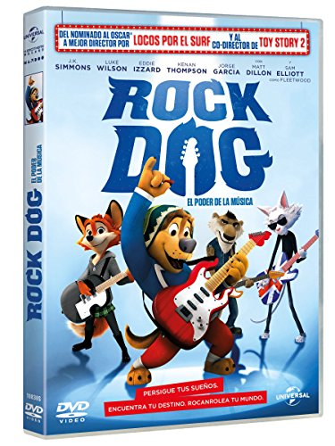 Rock Dog: El Poder De La Música [DVD]