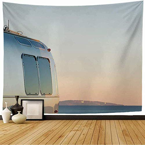 Tapestry Wall Hangings Camp Winter Metal Rv Camping On Cost California Recreational Nature Luxury Park Activity Motorhome Wall Blanket for Bedroom Wall Decor 80X60inch