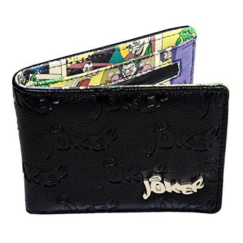 Fumetti DC per uomo Il portafoglio in rilievo Joker