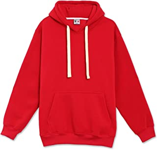 Mens Hipster Hip Hop Basic Sweatshirts Pullover Hoodie Jacket (Upto 6XL Plus)