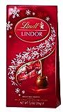 Lindt LINDOR Milk Chocolate Holiday Truffle 7.2 Ounce