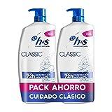 H&S Classic Champú Anticaspa 2x900ml
