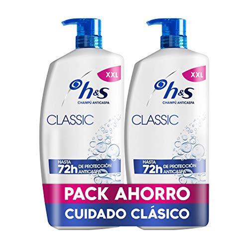 H&S Classic Champú Anticaspa 1800 ml