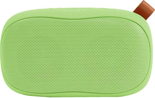 Corseca Sushi 10W Wireless Portable Bluetooth Speaker with FM Radio HD Sound and Deep Bass with Built-in Mic SD Card and Aux