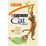 Purina Cat Chow Comida para Gato Adulto con Pollo 24 x 85 g - 1 Pack