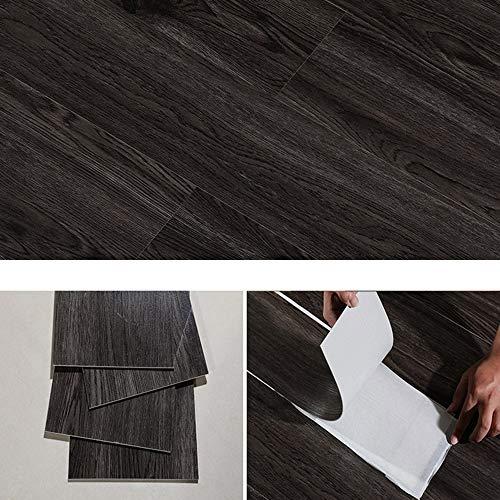 Selbstklebender Vinylboden, Küche, Bad und Wohnzimmer wasserdichte rutschfeste Bodenfliesenaufkleber, Selbstklebende PVC-Wandaufkleber-Bodenfliesen, DIY Heimdekoration