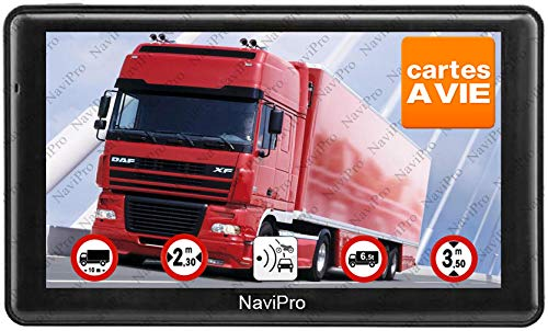 NaviPro - GPS pour camping-car NaviPro Active, 7 pouces