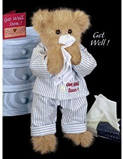 Illie Willie Get Well Soon Teddy Bear by Bearington