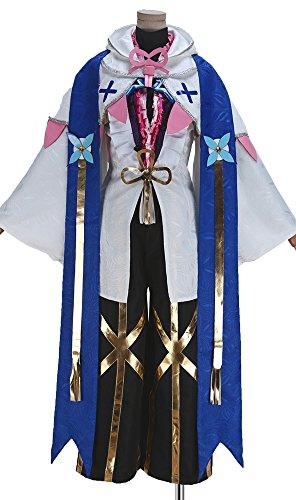 Fate Grand Order Merlin FGO Kimono Cosplay Costume Full Set Women Costume