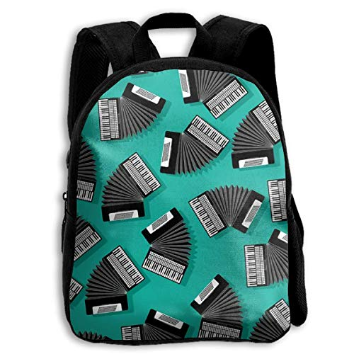 Backpack Children Boys Girls Accordion Instrument Backpack Shoulder Bag Book Scholl Travel Backpack