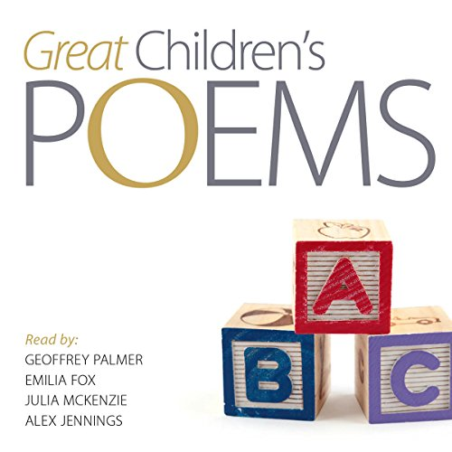 Great Poems for Children audiobook cover art