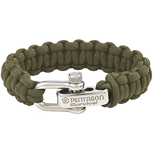 Pentagon Survival Armband Oliv Grün
