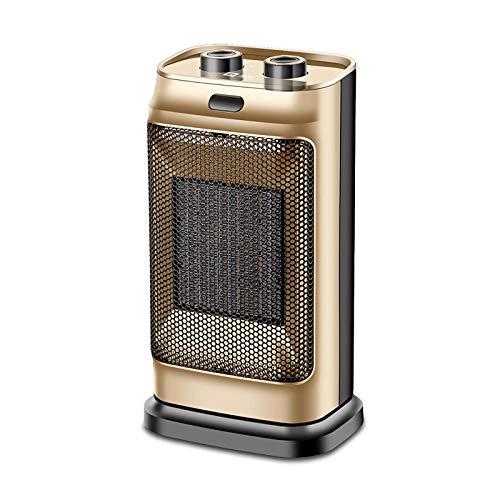 Eléctrico Al Aire Libre Calefactor,Patio Ptc Cerámica Calefactor Eléctrico Mini Portable Calefactor Espacio Silencioso Protección Contra Sobrecalentamiento Calefactor Para Habitac-Amarillo Un