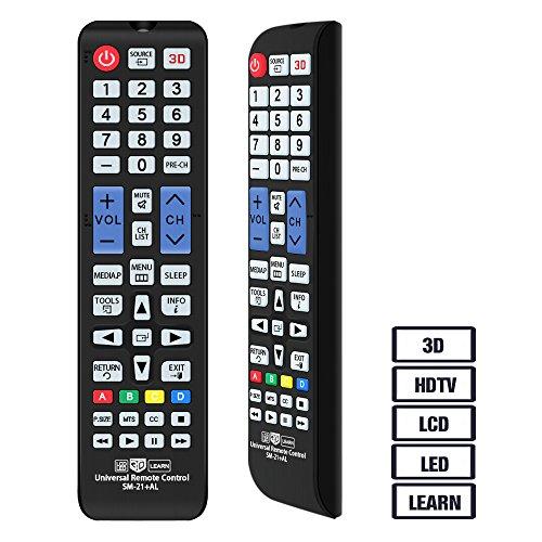 Alkia - Mando a distancia universal para casi todos los televisores Samsung LCD LED HD Smart TV, AA59-00666A BN59-01178W BN59-01199F AA59-00638A AA59-00637A AA59-00594A AA59-00600A AA59-00582A