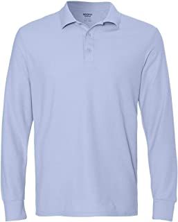 Gildan G729 Men's Drybelnd Double Pique Long-Sleeve Polo