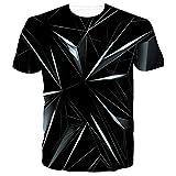 SunFocus Camisetas Hombre Originales Verano 3D Camiseta Manga Corta Divertidas Personalizado Casual Impresión T Shirt...