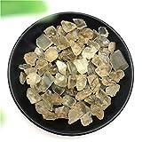 YSJJMES Cristal Natural Rugoso 50 g de Plata Natural Blanco Luna de Luna Grava Piedra Preciosa Mineral áspero Piedra Originales Piedras Naturales y minerales