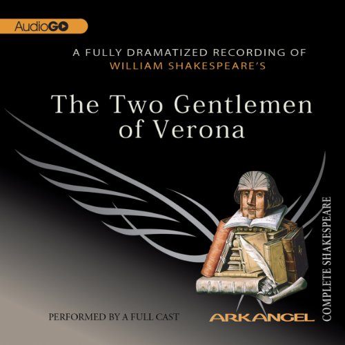 The Two Gentlemen of Verona     Arkangel Shakespeare              By:                                                                                                                                 William Shakespeare                               Narrated by:                                                                                                                                 Michael Maloney,                                                                                        Damian Lewis,                                                                                        Saskia Wickham,                   and others                 Length: 1 hr and 59 mins     9 ratings     Overall 4.8