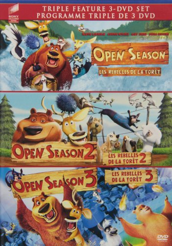 Open Season / Open Season 2 / Open Season 3 (Triple Feature)