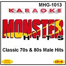 Monster Hits Karaoke #1013 - Classic 70s & 80s Male Hits