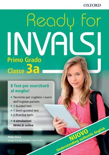 Ready for INVALSI SS1. Student book. Without key. Per la Scuola media. Con espansione online